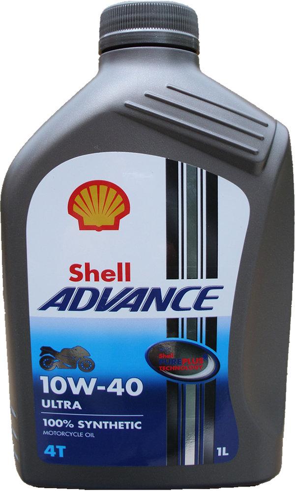 Shell 10w 40 Advance 4t Ultra 1x 1l Buy Online Motorcycle Oil