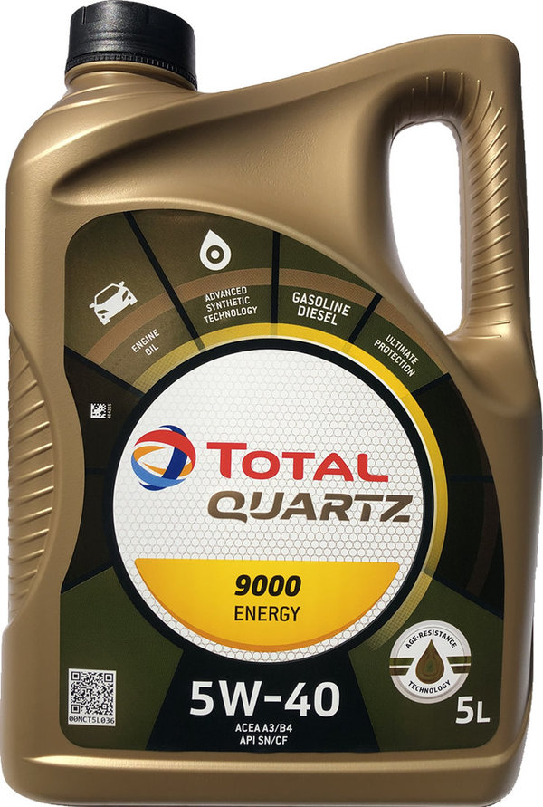 Motoröl Total 5W-40 Quartz 9000 Energy (5 Liter)
