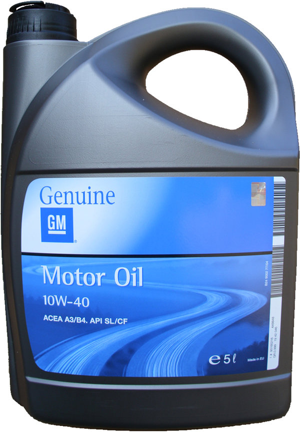 Motor Oil Original GM 10W-40 (5 Liters) - by OPEL
