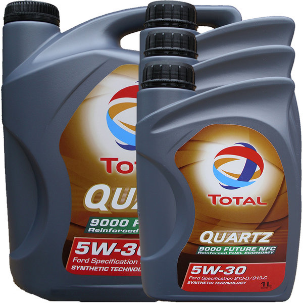 Motoröl Total Quartz 5W-30 9000 Future NFC (5L + 3L)