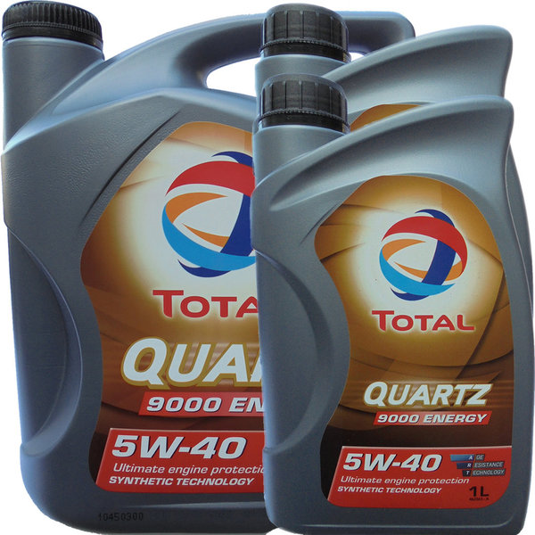 Motoröl Total 5W-40 Quartz 9000 Energy (5L + 2L)