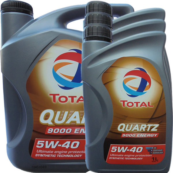 Motoröl Total 5W-40 Quartz 9000 Energy (5L + 3L)