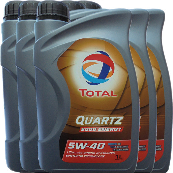 Motoröl Total 5W-40 Quartz 9000 Energy (5 X 1Liter)