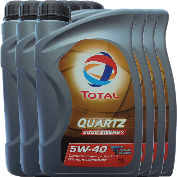 Motoröl Total 5W-40 Quartz 9000 Energy (6 X 1Liter)