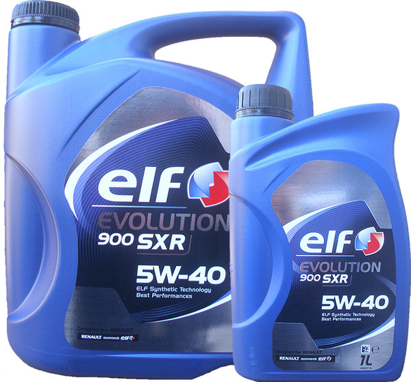 Motoröl ELF 5W-40 EVOLUTION 900 SXR (5L + 1L)