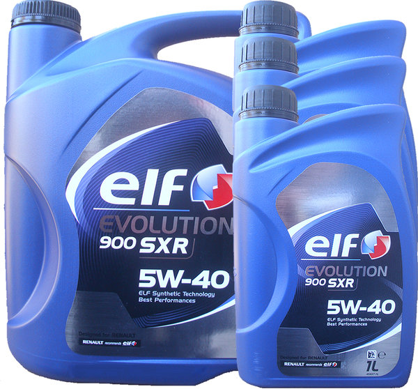 Motoröl ELF 5W-40 EVOLUTION 900 SXR (5L + 3L)