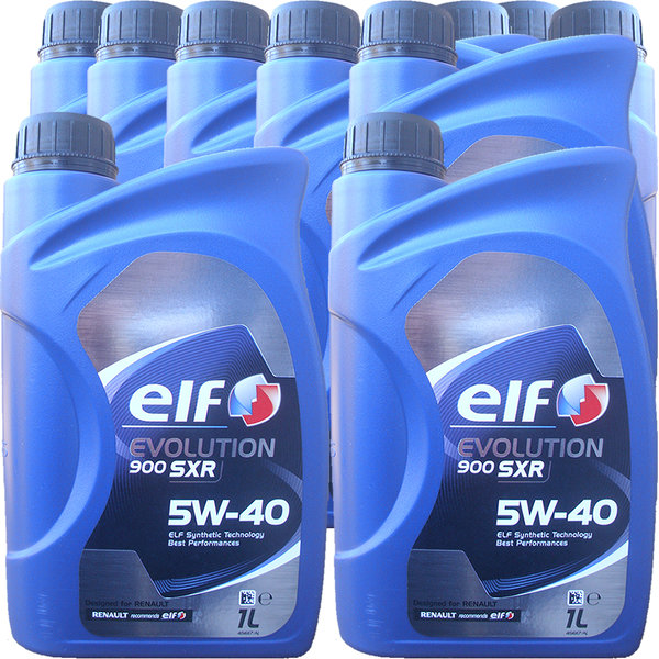 Motoröl ELF 5W-40 EVOLUTION 900 SXR (10 X 1Liter)