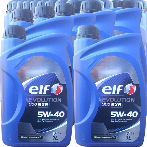 Motoröl ELF 5W-40 EVOLUTION 900 SXR (24 X 1Liter)