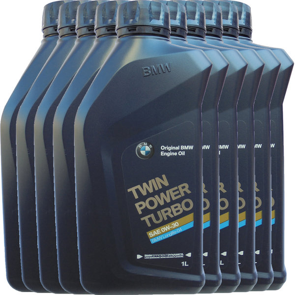Motoröl Original BMW 0W-30 Twin Power Turbo LL-04 (10 X 1Liter)