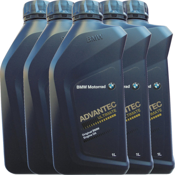 Original BMW Motorrad 5W-40 ADVANTEC Ultimate (5 X 1Liter)