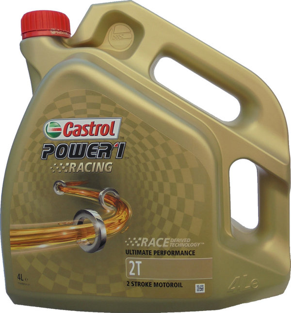 Motorradöl Castrol 2T Power1 Racing (4 Liter)