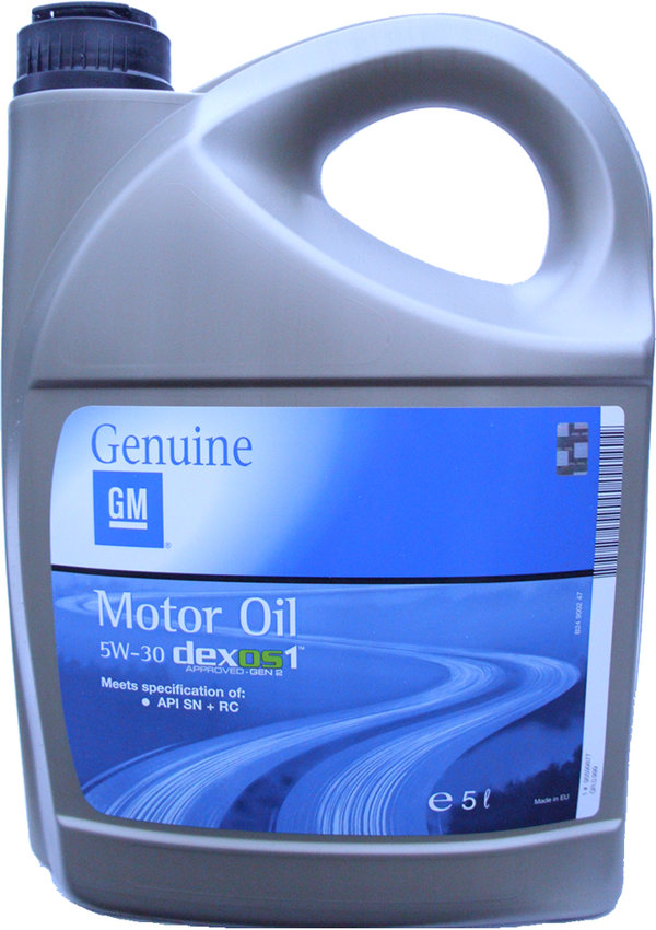 Motor Oil Original GM 5W-30 dexos1 (5 Liters) - by OPEL