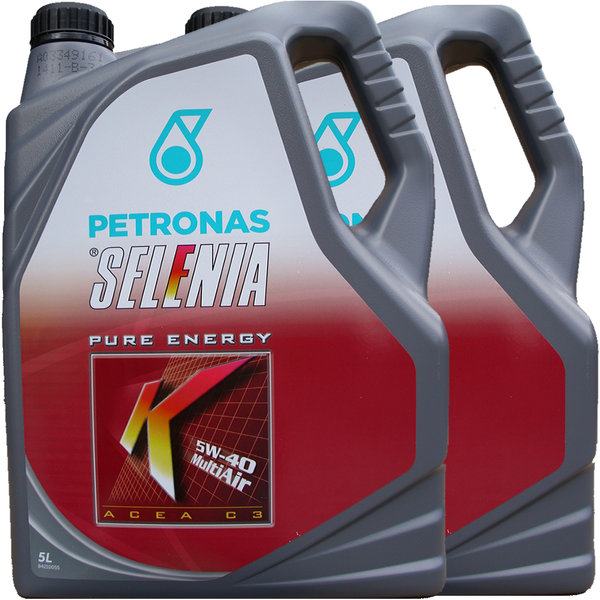 Motoröl Selenia 5W-40 K Pure Energy Multi Air (2 X 5Liter)