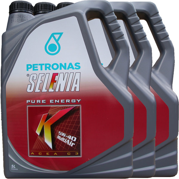 Motoröl Selenia 5W-40 K Pure Energy Multi Air (3 X 5Liter)