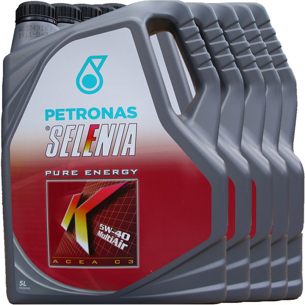 Motoröl Selenia 5W-40 K Pure Energy Multi Air (5 X 5Liter)