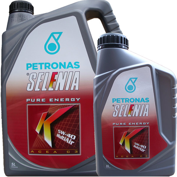 Motoröl Selenia 5W-40 K Pure Energy Multi Air (5L + 1L)