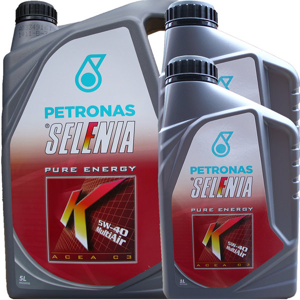 Motoröl Selenia 5W-40 K Pure Energy Multi Air (5L + 2L)