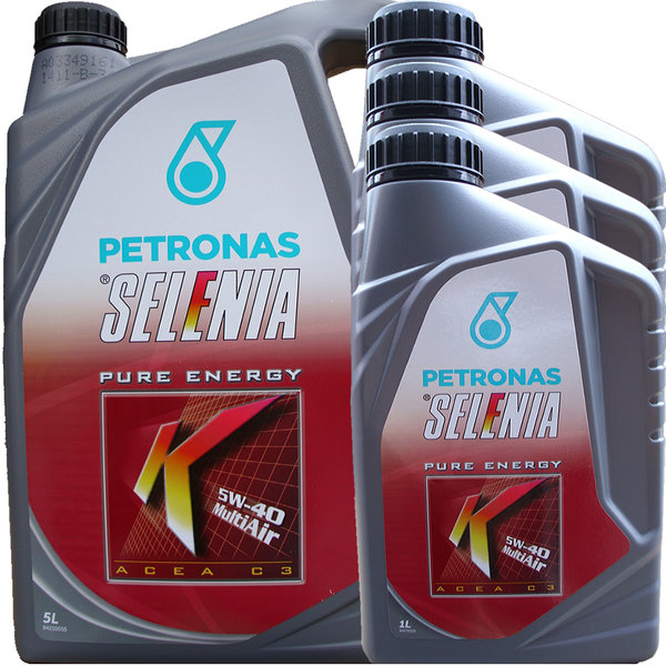 Motoröl Selenia 5W-40 K Pure Energy Multi Air (5L + 3L)