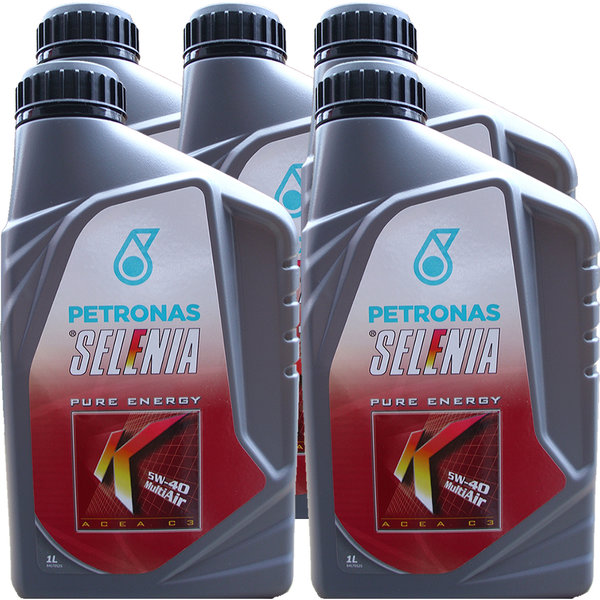 Motoröl Selenia 5W-40 K Pure Energy Multi Air (5 X 1Liter)