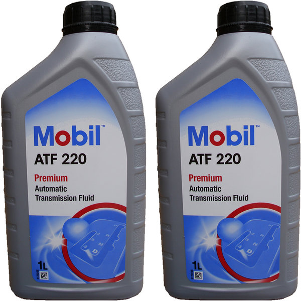 Automatic Transmission Fluid Mobil ATF 220 (2 X 1 Litre)