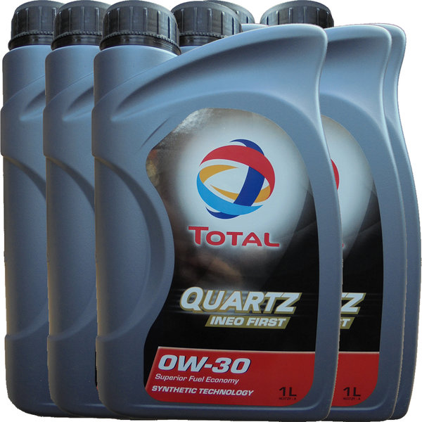 Motoröl Total 0W-30 Quartz Ineo First (6 X 1Liter)