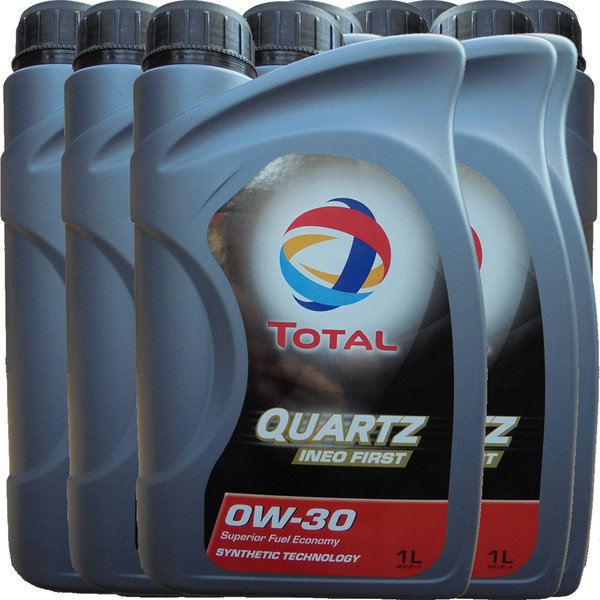 Motoröl Total 0W-30 Quartz Ineo First (9 X 1Liter)