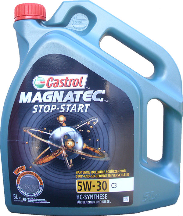 Motor Oil Castrol 5W-30 Magnatec STOP-START C3 (5 Liters)