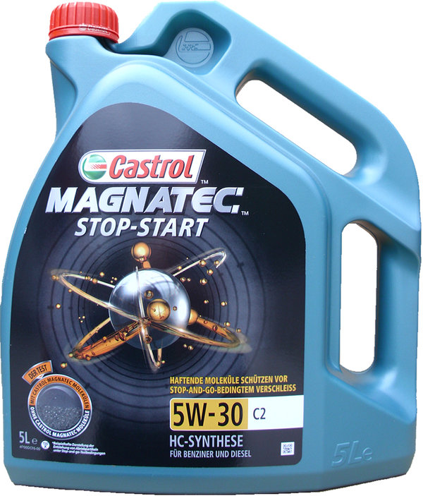 Motor Oil Castrol MAGNATEC STOP-START 5W-30 C2 (5 Liters)