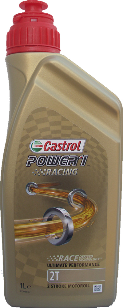 Motorcycle Oil Castrol 2T Power1 Racing (1 Litre)